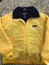 Lands End Squall Jacket - Yellow - Size M