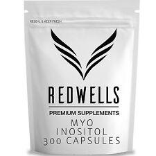 300 Capsule di inositolo - 500mg per porzione-qualità garantita il Myo inositolo