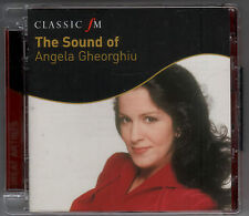 ANGELA GHEORGHIU: THE SOUND OF - CD (2010) MASCAGNI PUCCINI  VERDI CATALANI ETC