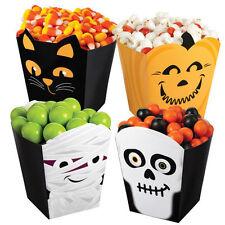 Halloween Monster Popcorn Box Kit 4 ct from Wilton #7083 - NEW