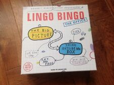Lingo Bingo The Office Adult  Board Game, New