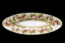 Vintage Royal Vienna Beehive Victorian couple Love Story Dish