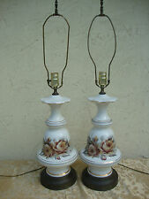 ANTIQUE VINTAGE AMERICAN KAYE  ART POTTERY TABLE  LAMPS