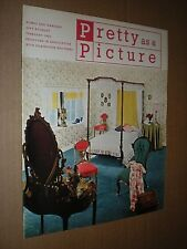 HOMES & GARDENS. PRETTY AS A PICTURE. 1962 SUPPLEMENT MAGAZINE. INTERIOR DESIGN