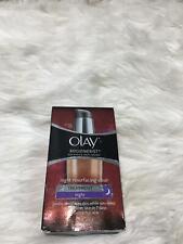 Olay Regenerist Night Resurfacing Elixir Treatment Night 1.7 oz Rare BB12