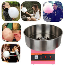 Candy Floss Machine Pink Cotton Candyfloss Sugar Maker Commercial Electric