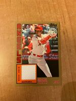 2019 Topps Series 1 - Shohei Ohtani - Gold 1984 Relic Parallel #'d 49/50 ANGELS
