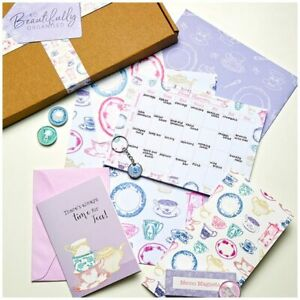 So Beautifully Organised Stationery Box 3 - Time For Tea