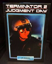 Terminator 2 Judgement Day: Ultimate T-1000 Motorcycle Cop NOUVEAU! Robert Patrick