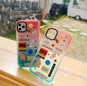 Sticker Fest Hypebeast Impact Clear iPhone Case 11 Pro Max SE XR XS Max Pangram