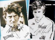 Jochen RINDT - 2 SUPER Autogramm Bilder - Print - Copies (1) + 2 F1 AK signiert