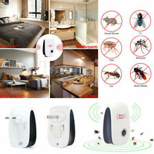 Electronic Repeller Mosquito Magnetic Ultrasonic Pest Reject Insect Killer EU