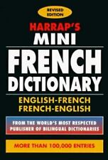 Harrap's Mini English-French Dictionary: Dictionnaire Francais-Anglais-ExLibrary