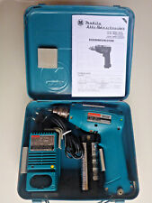 Makita 6012D,Akku Bohrmaschine,Bohrschrauber+Ladegerät DC7100+Koffer