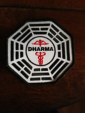 """LOST TV Series Dharma MEDICAL CADUCEUS 4"""" Embroidered Patch"""