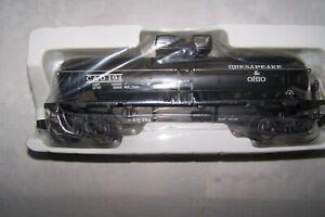 KLINE # K-632-1252 DIE CAST CHESAPEAKE & OHIO DIE CAST ONE DOME FLAT CAR NEW