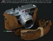 LUIGI TENDERLY CASE for LEICA M2-M3-M4,M4-P,-M6-M7-MP,M-A,FULLY LINED STRAP+UPS