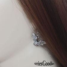 bijou halloween Boucles d'oreilles pendentif chauve souris symbole des vampires