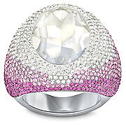 Swarovski Vita Crystal Moonlight Ring   size 52  New  5032360