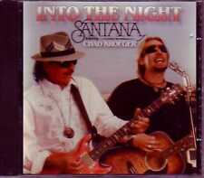 ★ MAXI CD SANTANA Feat Chad KROEGER Into the night ¨PROMO 2-TRACK jewel case ★