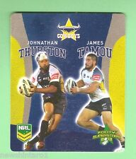 TIP TOP NRL 2013 RUGBY LEAGUE FOOTY SUPERSTARS CARD #36 THURSTON / TAMOU