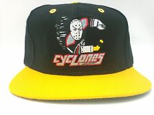 Cincinnati Cyclones Hat Vintage Flat Bill Snapback Wool Blend 2-Tone Hat