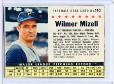 "1961 POST CEREAL #140 WILMER MIZELL ""BOX"", PITTSBURGH PIRATES, SET BREAK, 051317"