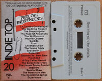 VARIOUS - INDIE TOP 20 VOL. VI (REVOLVER TT06MC) 1989 UK CASSETTE COMPILATION