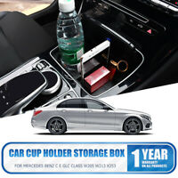 Central Armrest Storage Box For Mercedes Benz GLA CLA Tray Replacement Car Inner