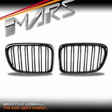 Gloss Black M4 Style Front Bumper bar Kidney Grille Grill for BMW X1 E84 09-14