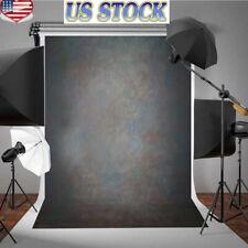 5x7Ft Retro Vinyl Vintage Black Grey Photo Backdrops Photography Prop Background