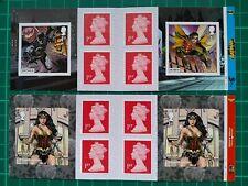 2021 DC Comics Batman & Wonder Woman CYLINDER Retail Booklets PM82 PM83 SBP2i