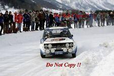 Walter Rohrl FIAT ITALIA FIAT 131 ABARTH Monte Carlo Rally 1980 fotografia 5