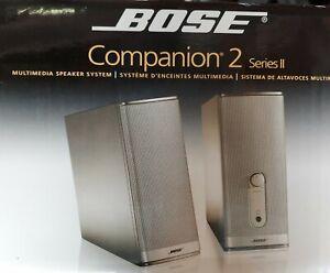 NEW Bose Companion 2 Series II Multimedia Speaker System
