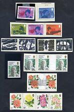 Lot of 30 stamps, Uk, 1976. Scott 777-801 Six Complete Sets
