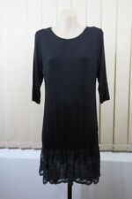 3/4 Sleeve Cotton Blend Tunic Regular Tops and Blouses for Women