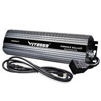 VIVOSUN 400w 600w 1000w Watt Dimmable Digital Ballast for Grow Light HPS MH Bulb