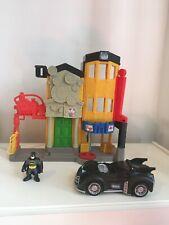 Imginext Play Set We Batman Car And Batman Figure