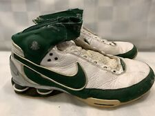 NIKE Shox Elite Basketball 2007 Men's Shoes Size 11 Green White 316904-131