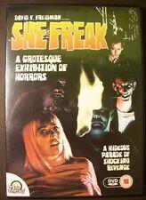 SHE FREAK DAVID F FREIDMAN CLAIRE BRENNEN 23rd CENTURY UK REGION FREE DVD L NEW