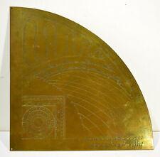Horary Quadrant of Girolamo della Volpaia - Vintage Quality Solid Brass Model