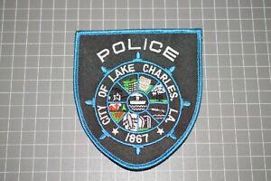 City of Lake Charles Louisiana Police Patch (B17-9)