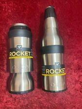 New 2 in 1 Orca Rocket Beverage Cooler Koosie Insulated Mug Bottle
