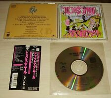 THE DOGS D'AMOUR Straight CD 1990 15trk Japan OBI POCP-1047