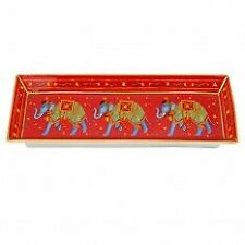 Halcyon Days Ceremonial Indian Elephant Pen Tray