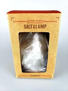 Earthbound Trading Mini Pink Orange Round HIMALAYAN SALT STONE LAMP USB Powered