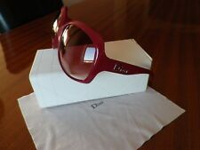 DIOR Glossy 1 Berry Women Oversized Sunglasses
