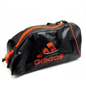 "adidas Martial Arts ""2 in 1"" Bag Karate Judo Taekwondo Equipment Gears Backpack"
