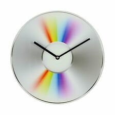 Retro Style CD Glass Wall Clock Music Gift Musicology New Fathers Day Birthday