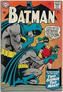 BATMAN #177 F+ 6.5